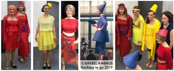 Bärbel Ambrus - Bauhaus to go - Modenschau 2019
