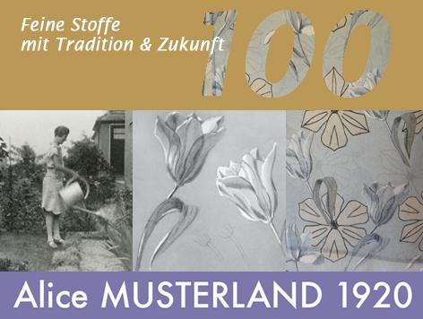 100 Jahre Alice Musterland, Tradition und Zukunft